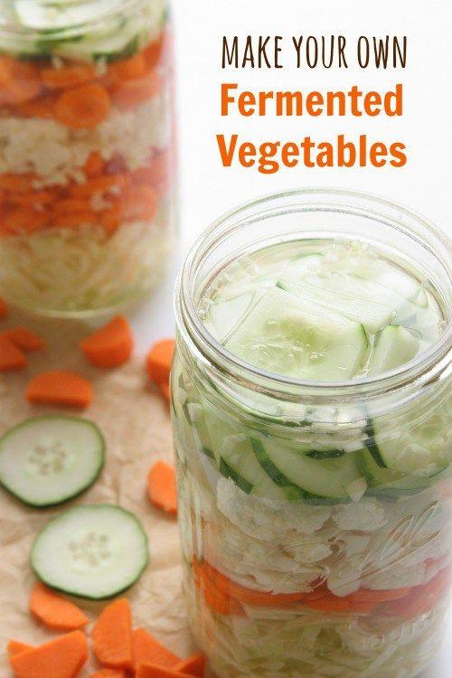 How to Make Lacto-Fermented Vegetables | DailyBitesBlog.com
