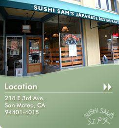 Sushi Sam - San Mateo