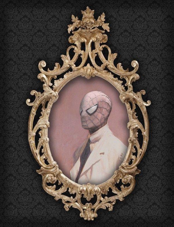 Spiderman - Portrait, Like a Sir by Berk Senturk on bloodyloud.com
