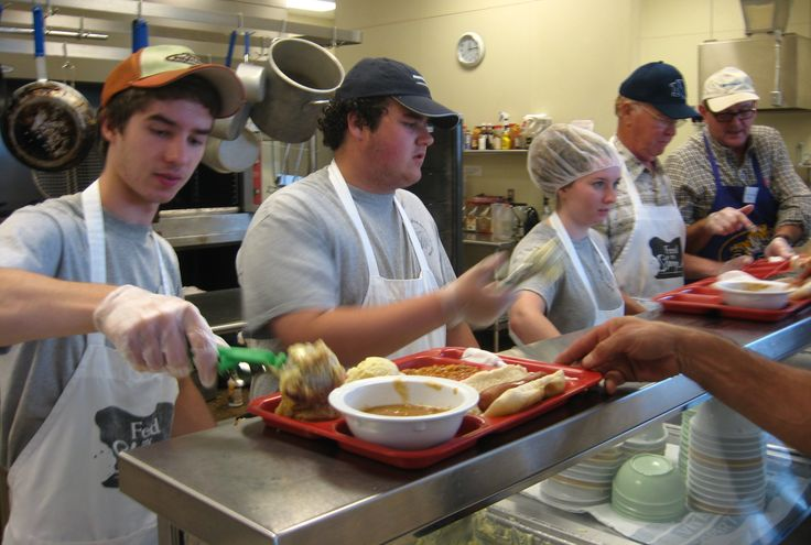 What It Like To Volunteer At A Soup Kitchen