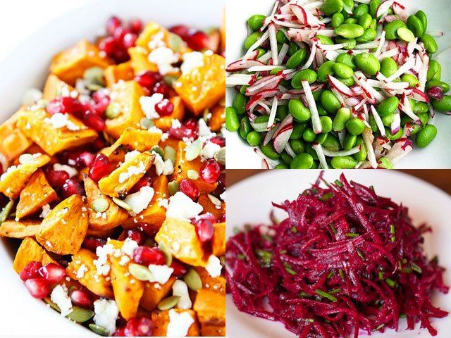 Sick of salad? Ditch the lettuce and enjoy these leaf-free salad recipes.