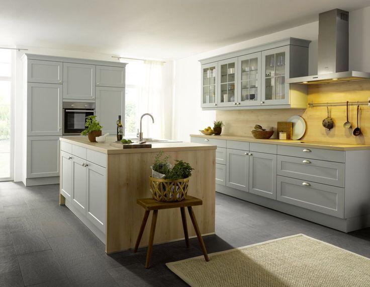 38 best Landhaus Küchen images on Pinterest - kche mit kochinsel landhaus