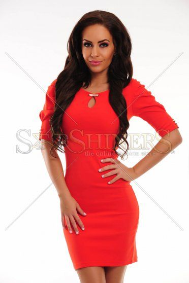 Rochie PrettyGirl Great Chick Red