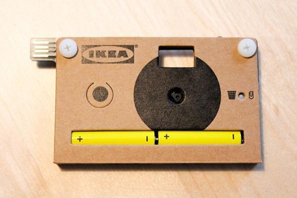 la macchina fotografica di Ikea