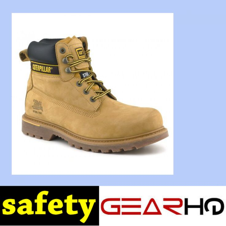 Caterpillar Men's Holton Safety Boots