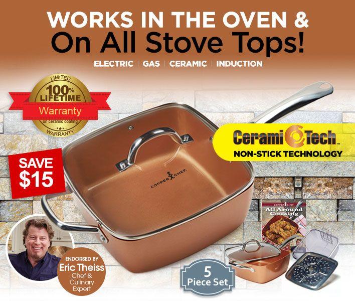 29 Best Images About Copper Chef On Pinterest Pot Pies
