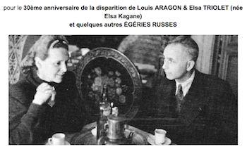 Elsa Triolet et Aragon