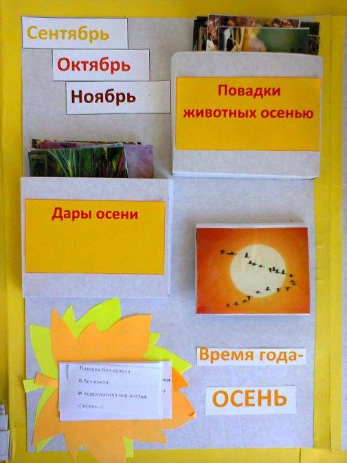 Лэпбук «Осень» для детей средней группы.  Фото