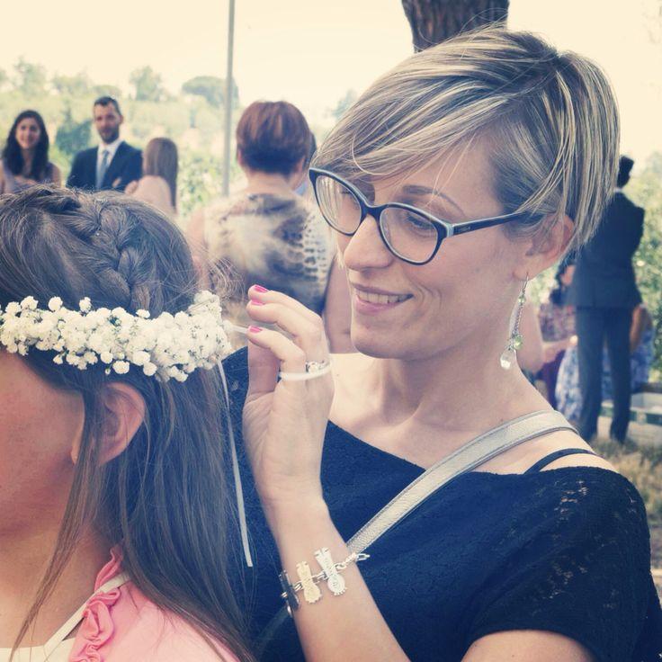 Young bridesmaid..