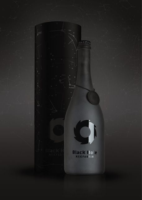 MEKFARTIN Black Hole on Packaging of the World. Who wouldn't love this black hole #packaging PD
