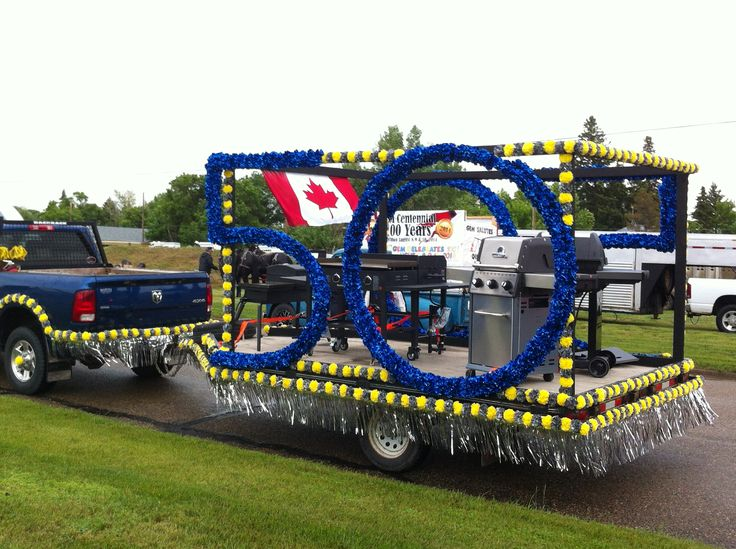 Parade float idea for a trailer.