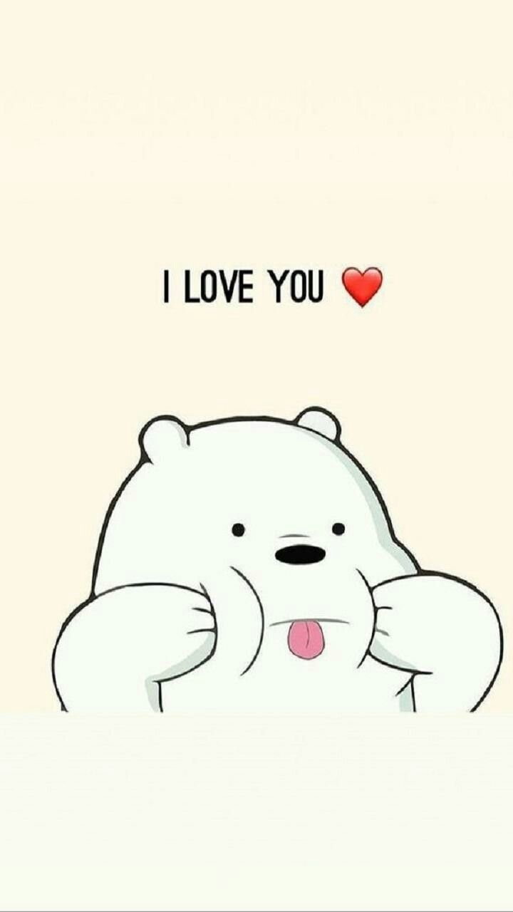 Do you love me??🤗 Bare bears in 2019 Pinterest Bare