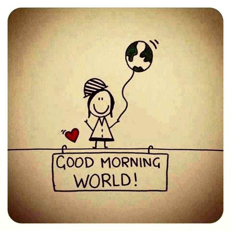 Bom dia mundo!