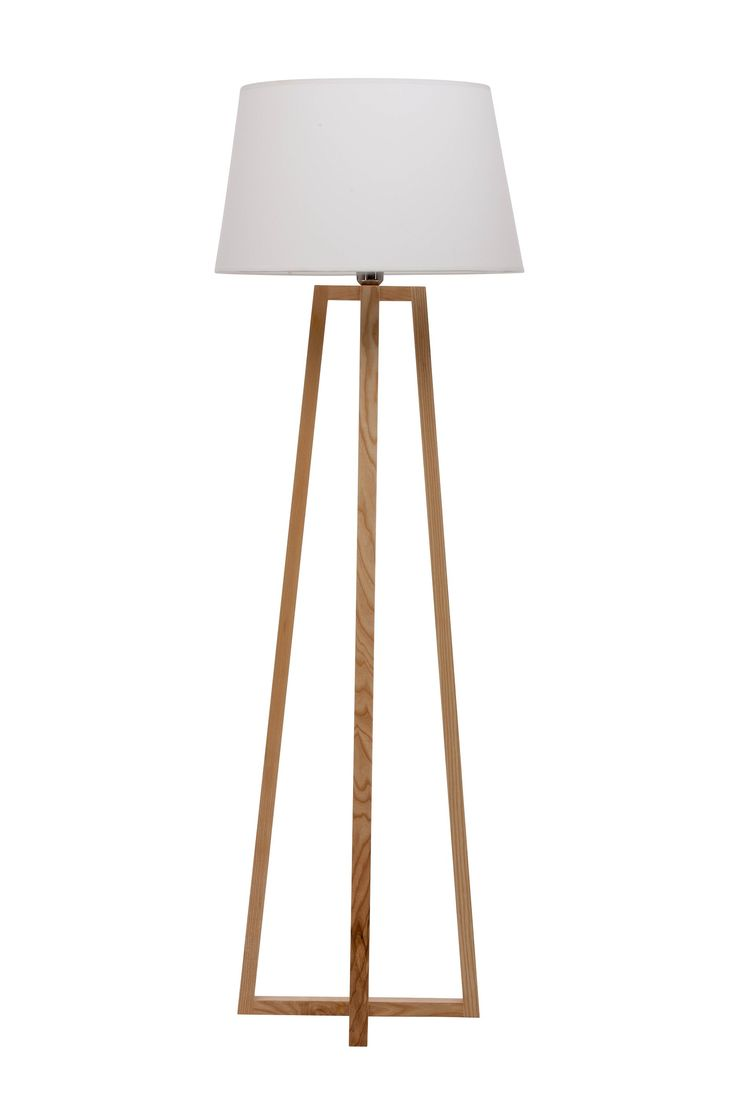 Modern Floor Lamp    This Stunning Modern Floor Lamp Is Elegantly Designed,  With A Simple Construction. The Cross Wood Base Is Carefully Construcu2026