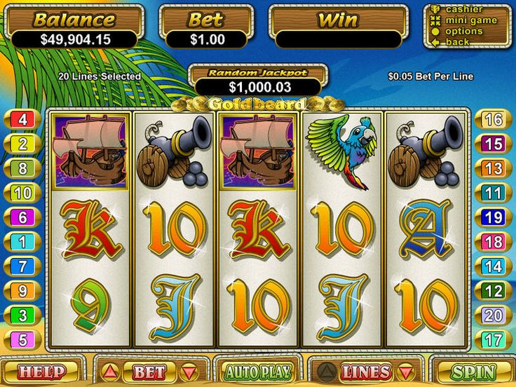 Goldbeard free #slot_machine #game presented by www.Slotozilla.com - World's biggest source of #free_slots where you can play slots for fun, free of charge, instantly online (no download or registration required) . So, spin some reels at Slotozilla! Goldbeard slots direct link: http://www.slotozilla.com/free-slots/goldbeard