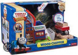 bol.com   Fisher-Price Thomas de Trein Hout - Houtversnipperaar, Mattel   Speelgoed...