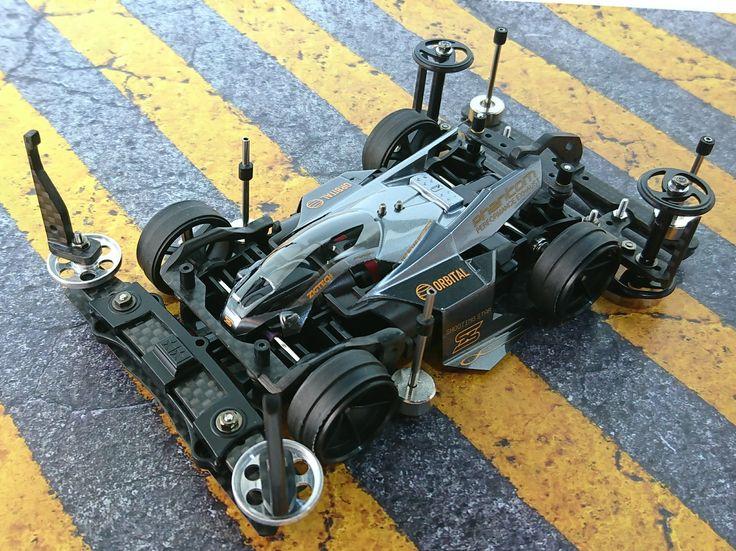 ミニ四駆 MA chassis 'black shot'