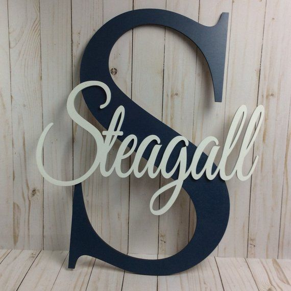 Personalized Name Large Name Sign Custom Name Sign Wall Sign Wall name sign Wall Decor Personalized Wall Name Sign Nursery Name Sign