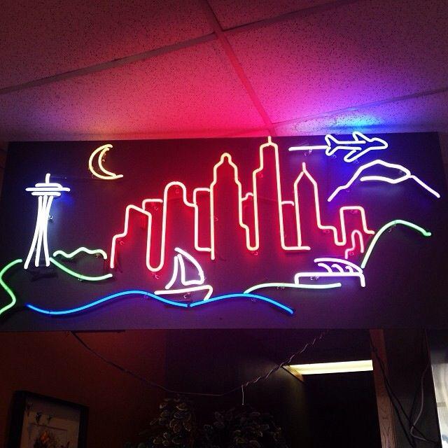 skyline sign neon - photo #19
