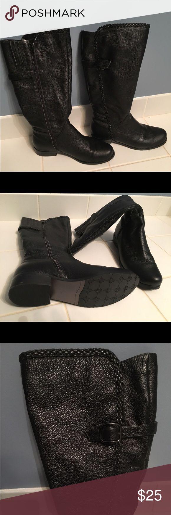 Gabriella Rocha Boots Gabriella Rocha boots. Black, Size 7.5  never worn. gabriella rocha Shoes Heeled Boots