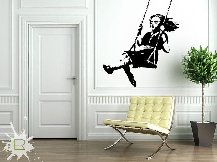 Naklejka Banksy CU