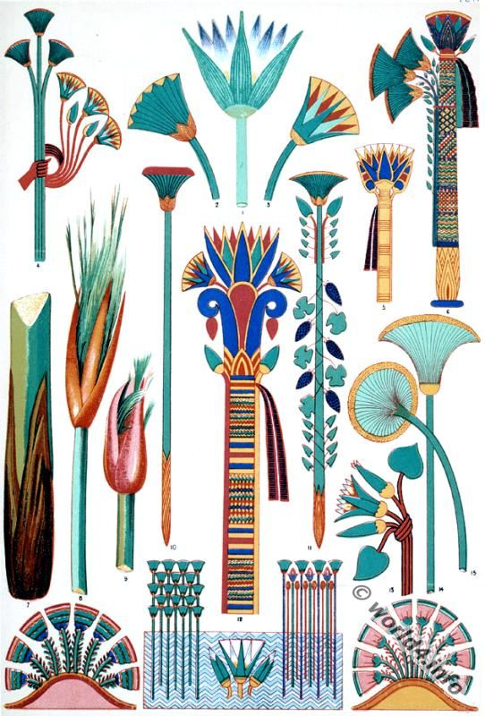 ancient_egyptian_egypt_ornaments_lotus.jpg (542×800)