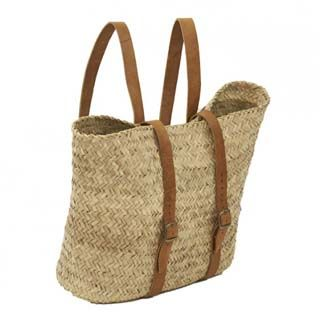 Knapsack style baskets for hands free travelling