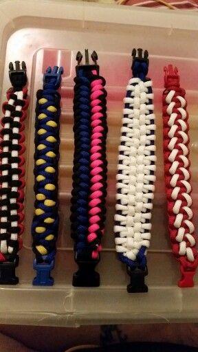 My bracelets made july 2015