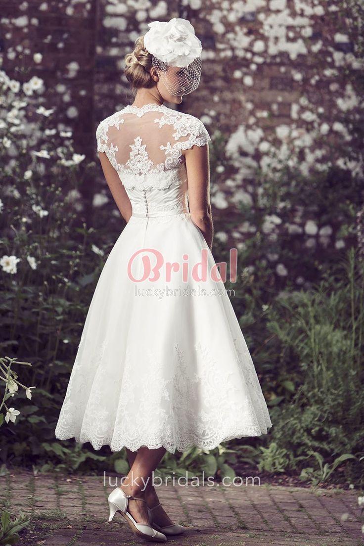 The Best Tea Length Wedding Dresses Ideas On Pinterest Tea