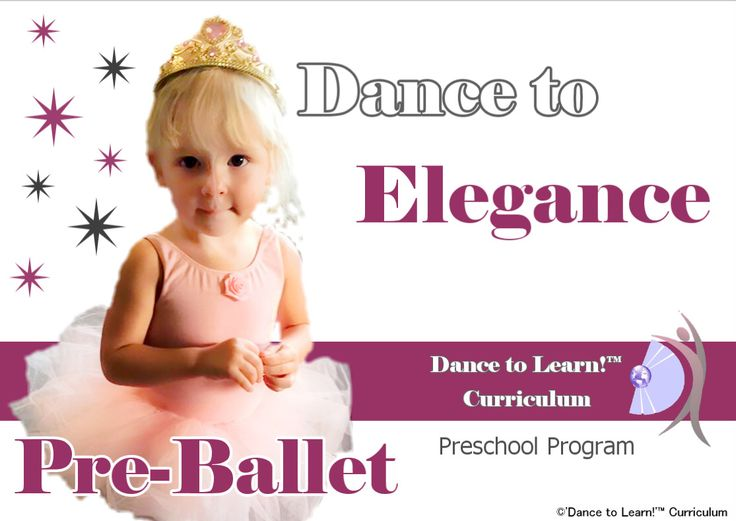 preschool ballet curriculum 13 best 5 methods of to learn images on 620