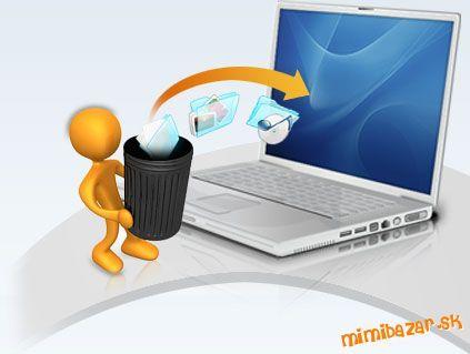 Ako obnoviť zmazané súbory zadarmo