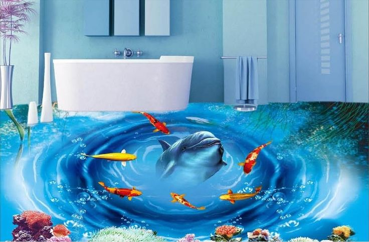 29.07$  Watch now - http://aliccg.shopchina.info/1/go.php?t=32723007246 - self-adhesive 3d flooring wallpaper custom vinyl flooring adhesives dolphin wallpaper photo 3d wallpaper floor  #bestbuy