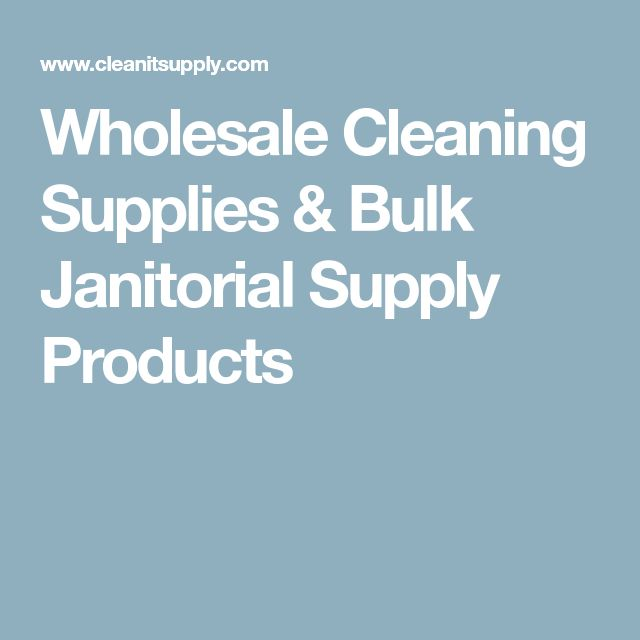 janitorial cleaning contracts