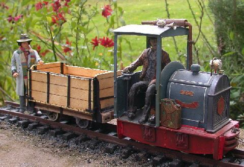 New 7/8 scale laser cut wagon kit available | model locomotives