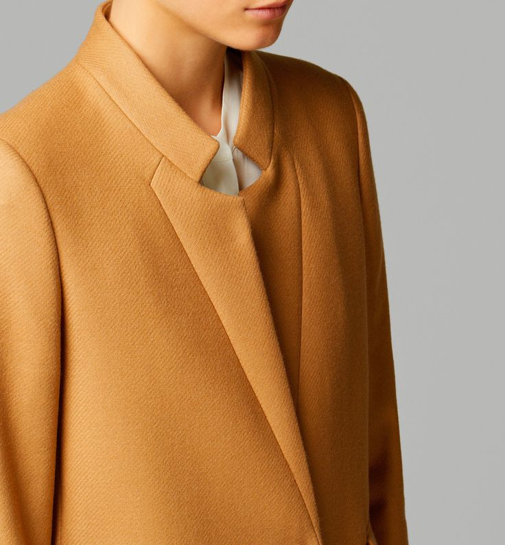 Massimo DUTTI | Camel Coat