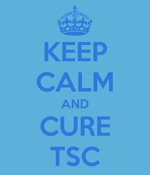 KEEP CALM AND CURE TSC