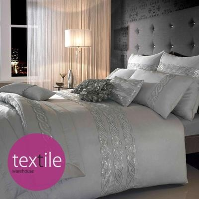 Silver bedding beautiful!