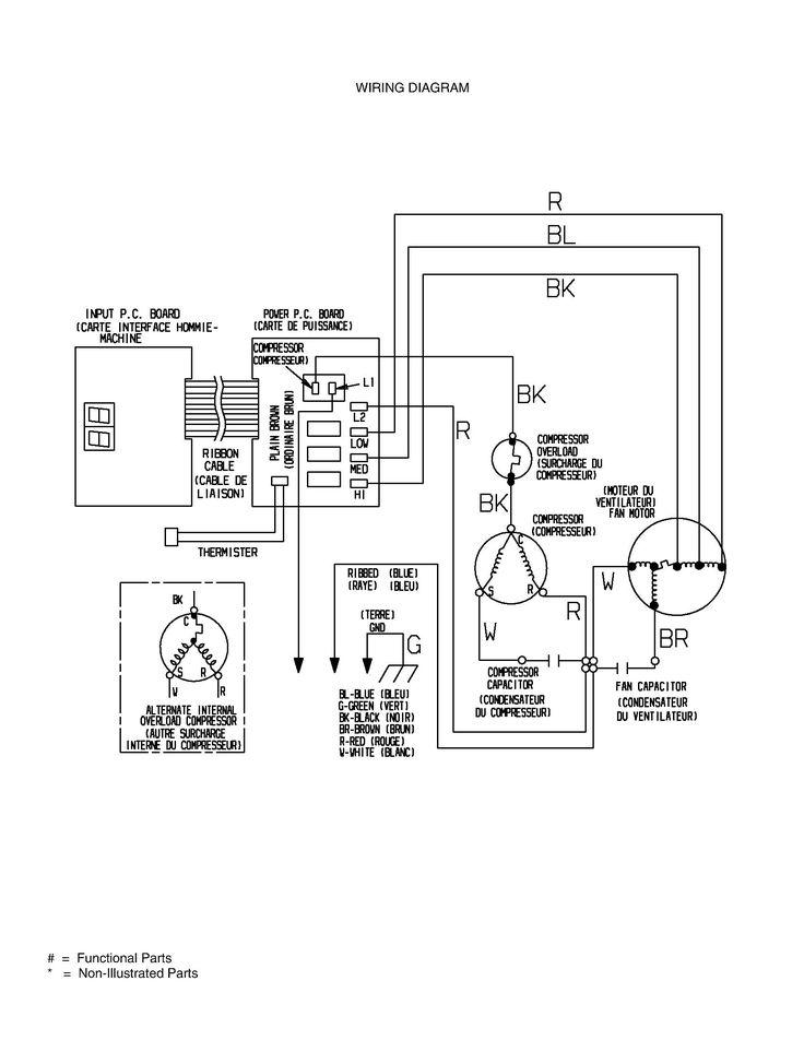 Air Conditioner Wiring Diagram Capacitor In 2020