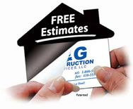 House-Shaped Ad Magnets! Just Add Your Own Business Card! Proven to be attractive in-home advertisement!