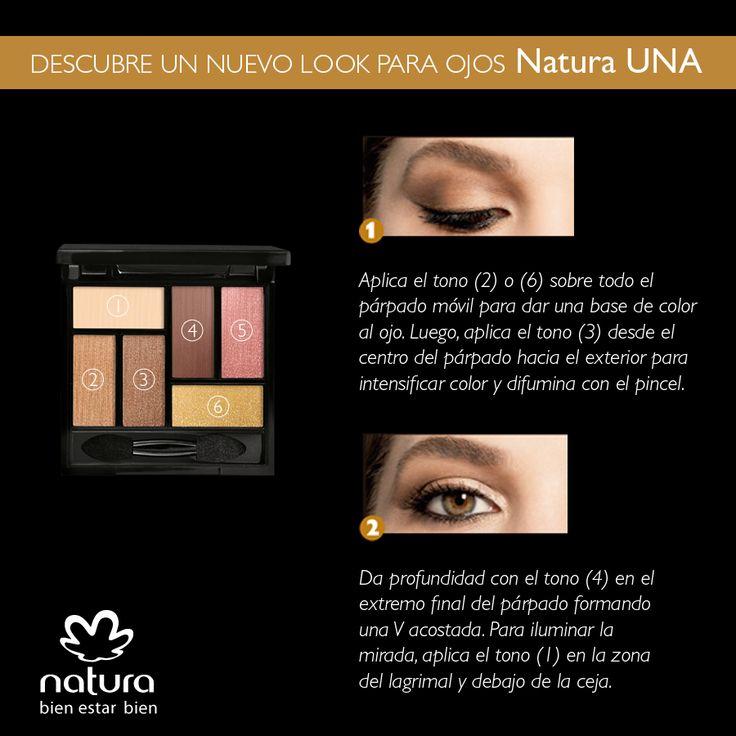 Revoluciona tu mirada con este look para ojos #NaturaUna - https://www.facebook.com/TienditadeBellezaLaguna/