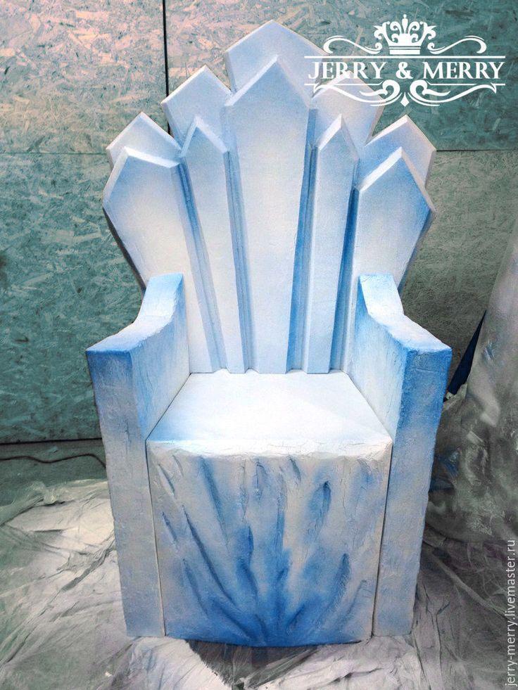Трон снежной королевы фото