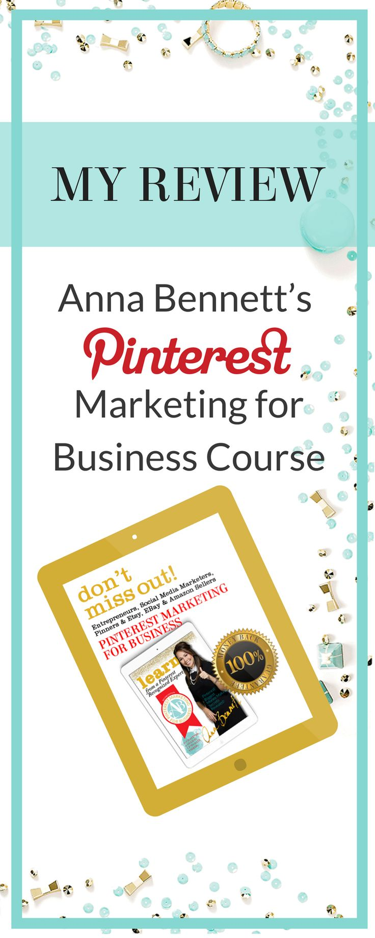 Pinterest expert Anna Bennett's unique teaching methods and easy-to-follow tips & tricks make her Pinterest course one of the best on the web. Let's take a look at what you can expect when you sign up for Anna Bennett's Pinterest Marketing for Business Course. Check it out here https://ecommercefastlane.com/pinterest-marketing-for-business-course/#   Social Media Tips   How to Get   How to Use   Entrepreneur Articles + Products