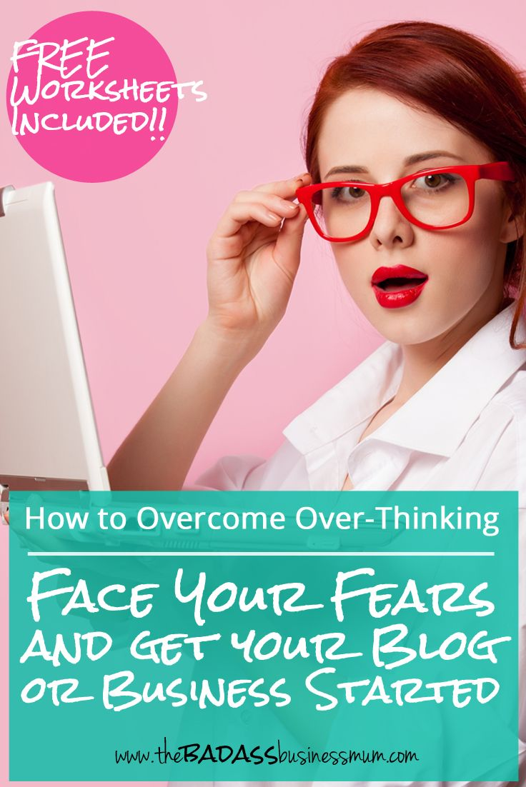 Face your fears and get your blog or business started! Free worksheets included to help you get prepared and organised to boost your confidence and start the way you mean to carry on!