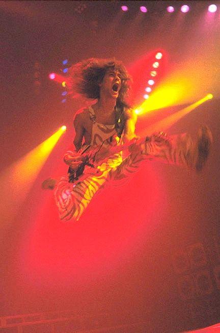 groovyman:  Eddie Van Halen!