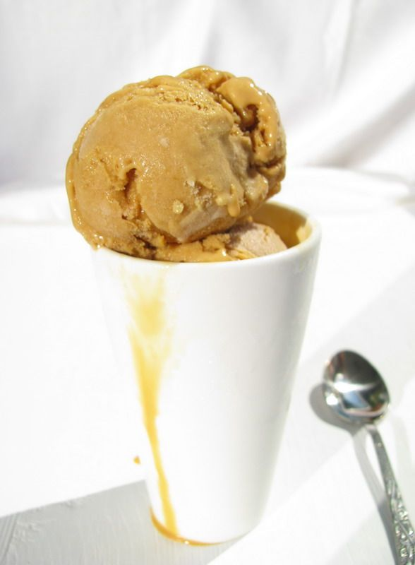Salted Caramel Ice Cream in thermomix