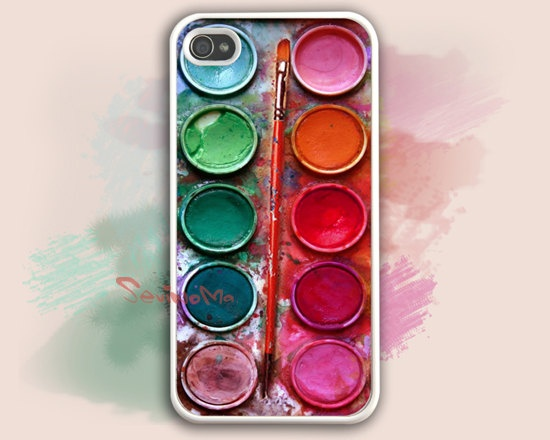 Watercolor Palette Iphone  Case
