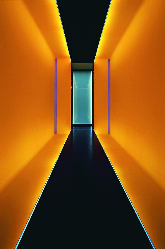 Pella Passage, 2005 by James Turrell / Lhoist Group Collection / Limelette, Brussels, Belgium