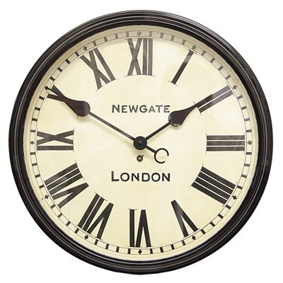 I have an unhealthy obsession with all things authentically British, of course this includes 'Newgate' clocks.