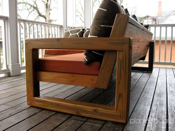 Furniture   Atlanta, Georgia Contemporary Outdoor Patio Furniture (custom  And Handmade)   Planku0026board