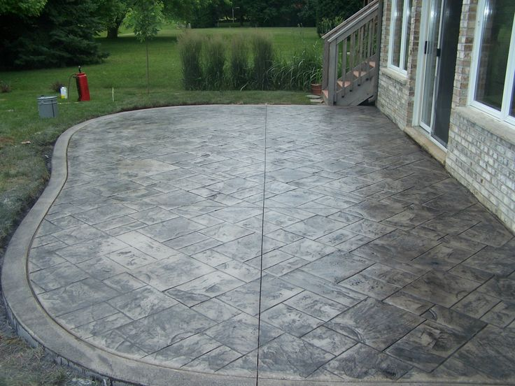 Gray And Gray Concrete : Best images about concrete pads on pinterest fire